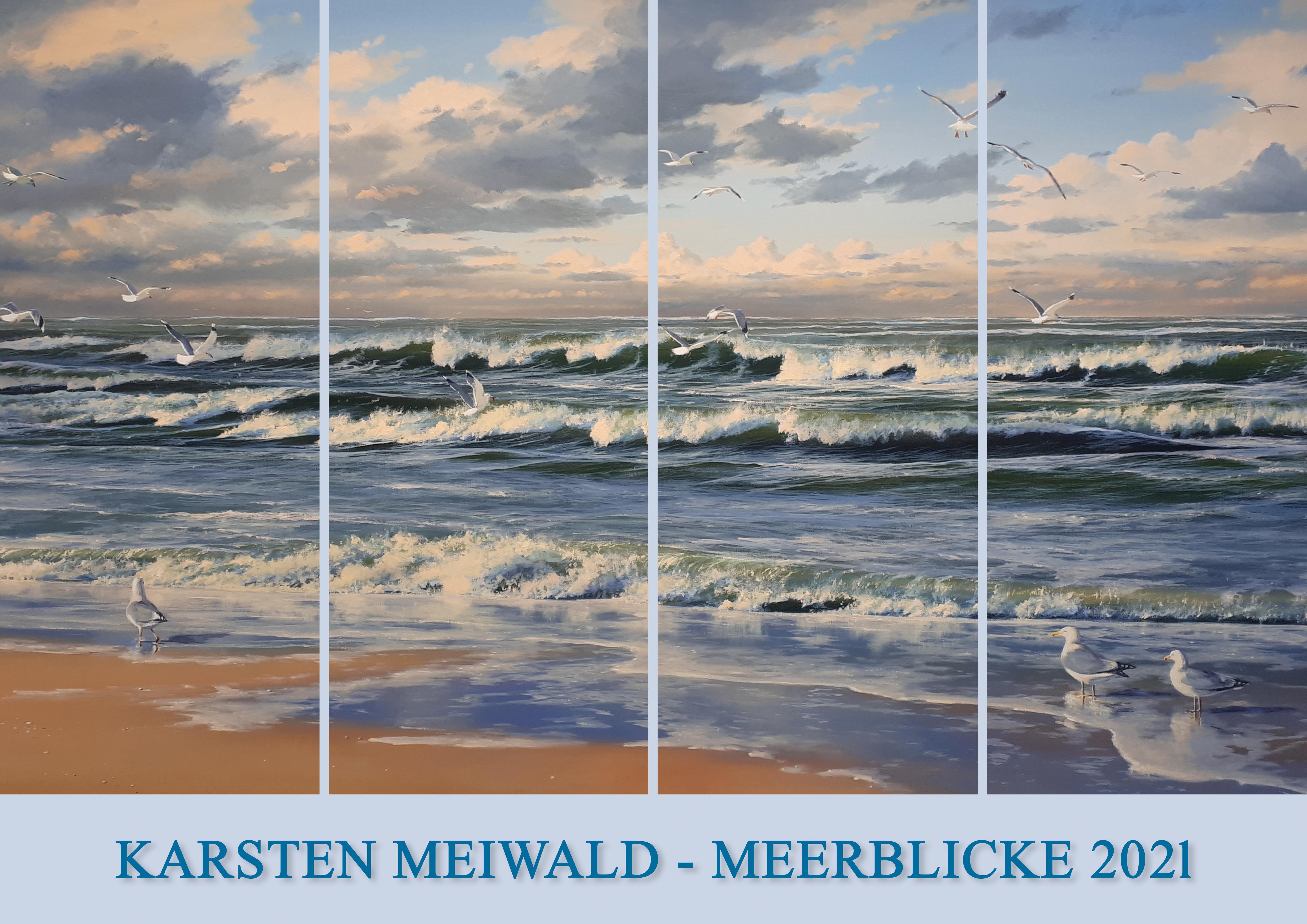 Kalender 2021 von Karsten Meiwald - Meerblicke