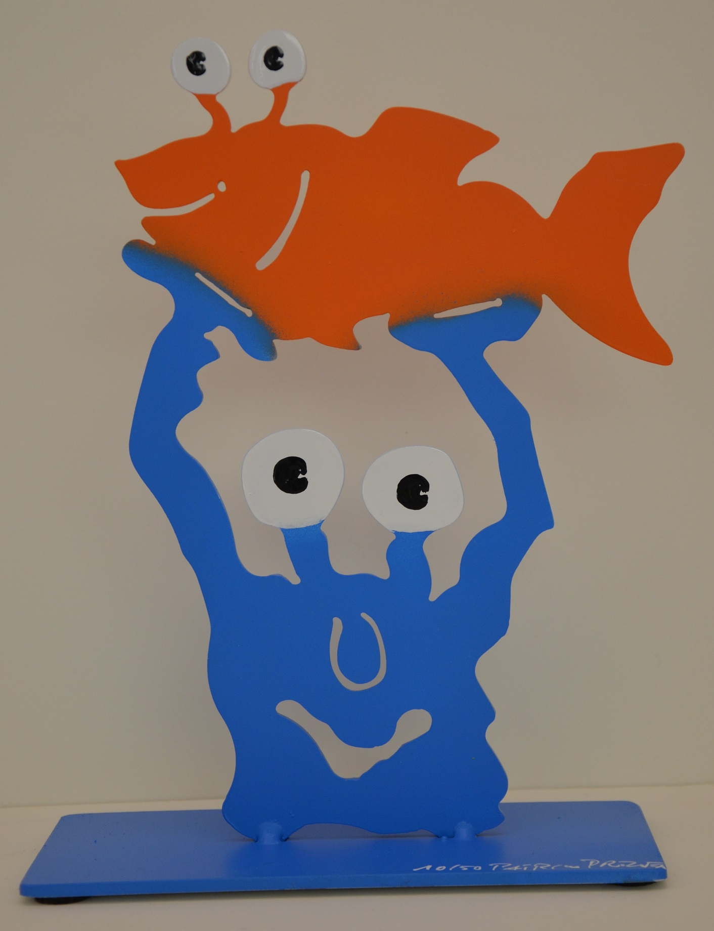 Monster mit Fisch