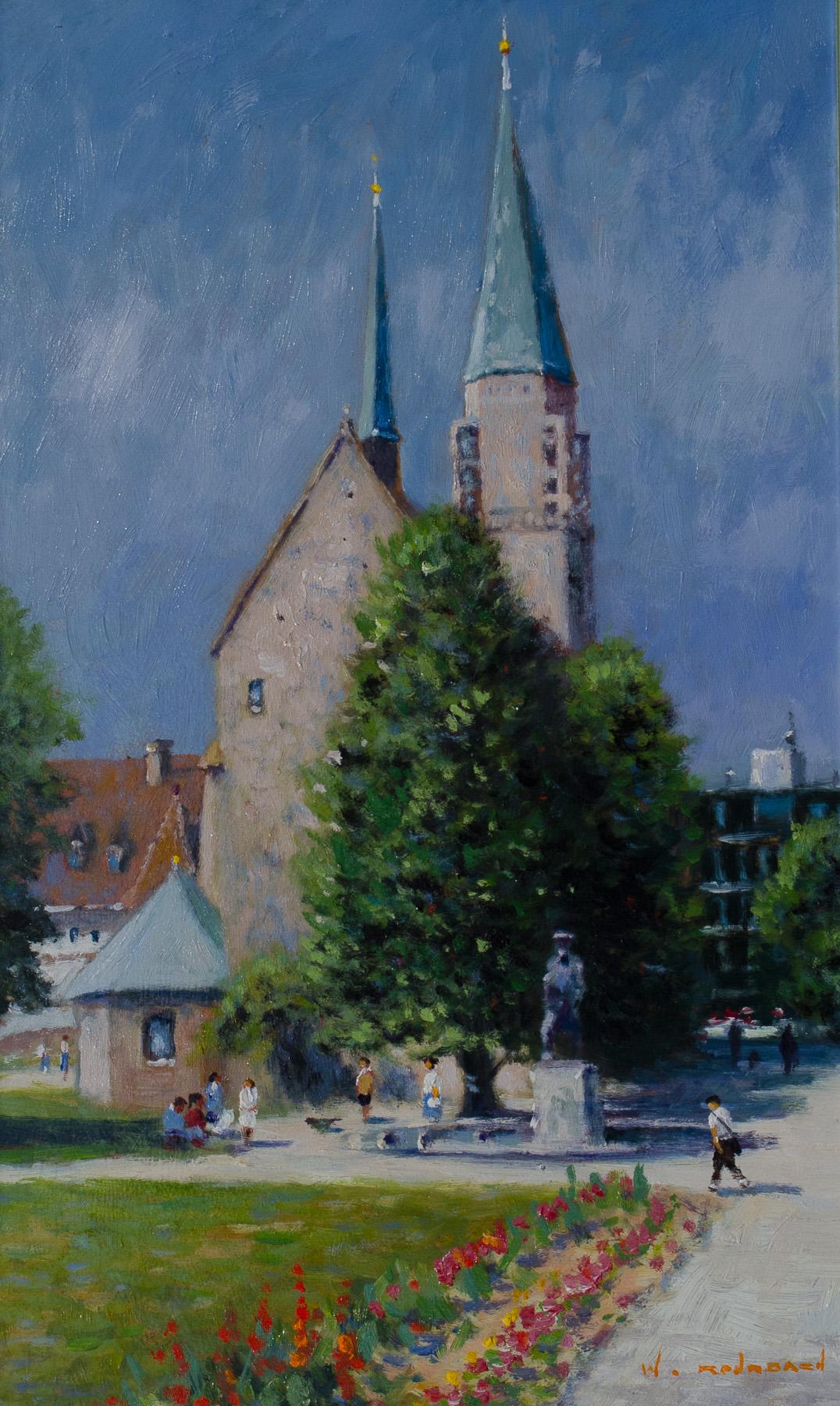 Altstädter Nikolaikirche im Sommer