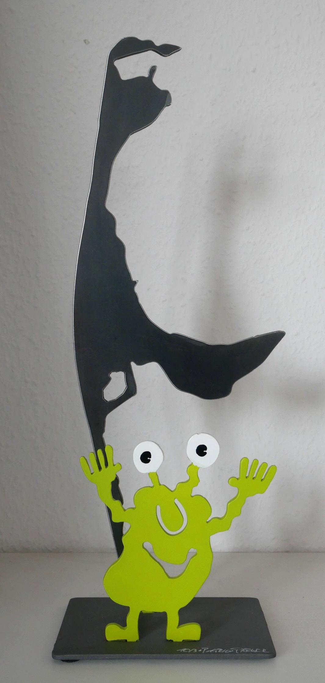 Monstergrüße von Sylt, grün