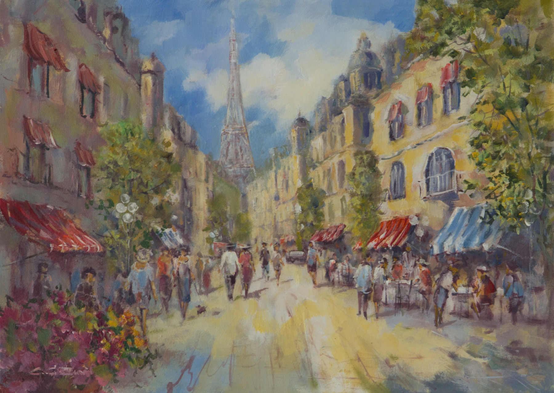 Bummel durch die Champs parisienne