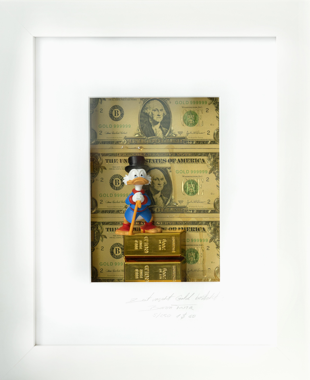 Zeit vergeht, Gold besteht, 100 Dollar - Dagobert Duck