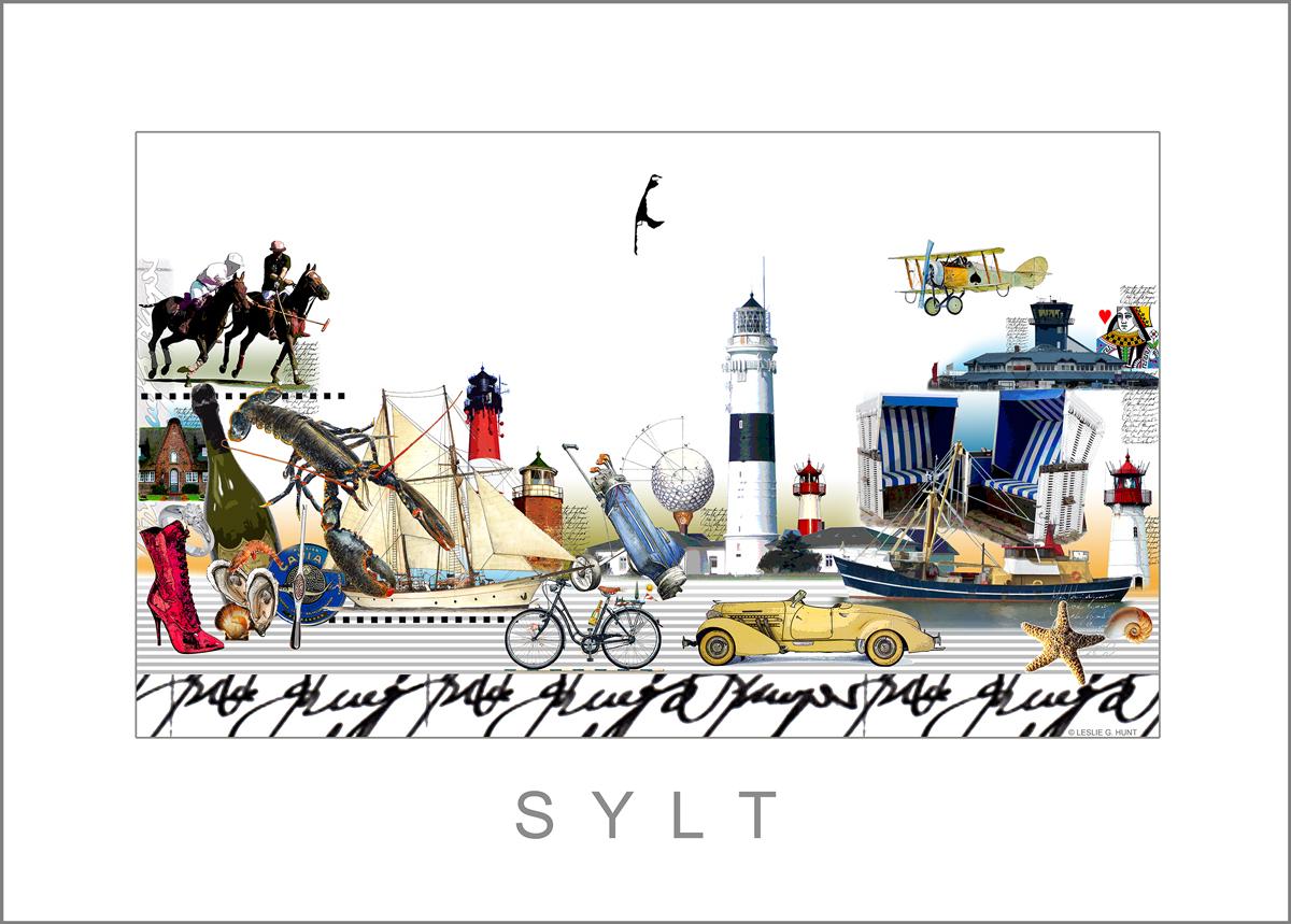 Cityprint Sylt von Leslie G. Hunt