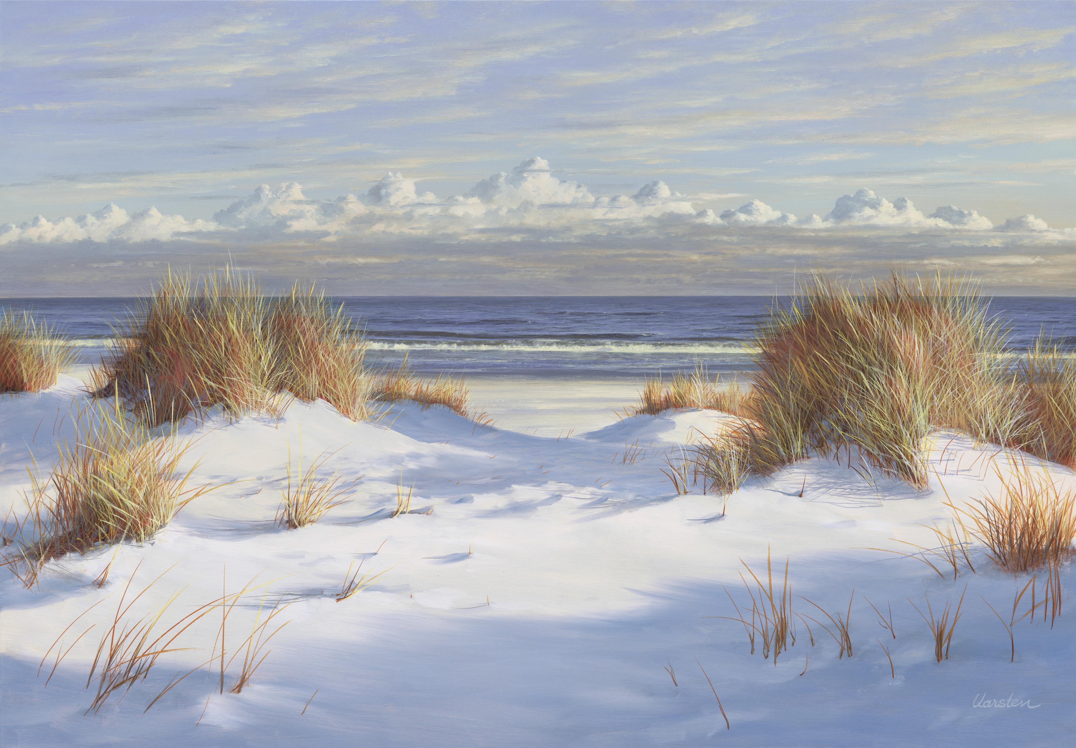 Ein herrlicher Wintertag - Fine Art Print