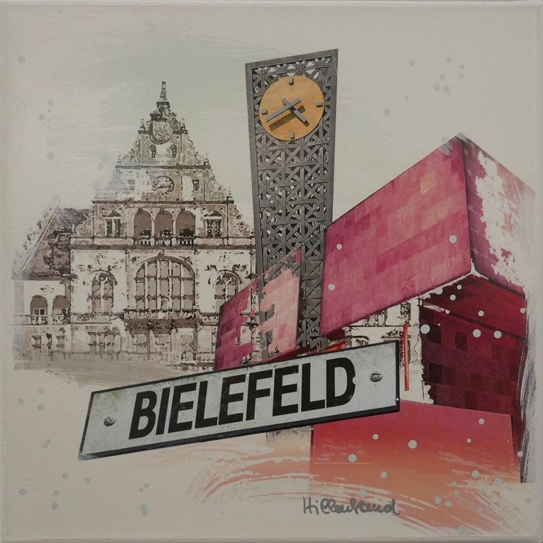 Bielefeld mit Kunsthalle