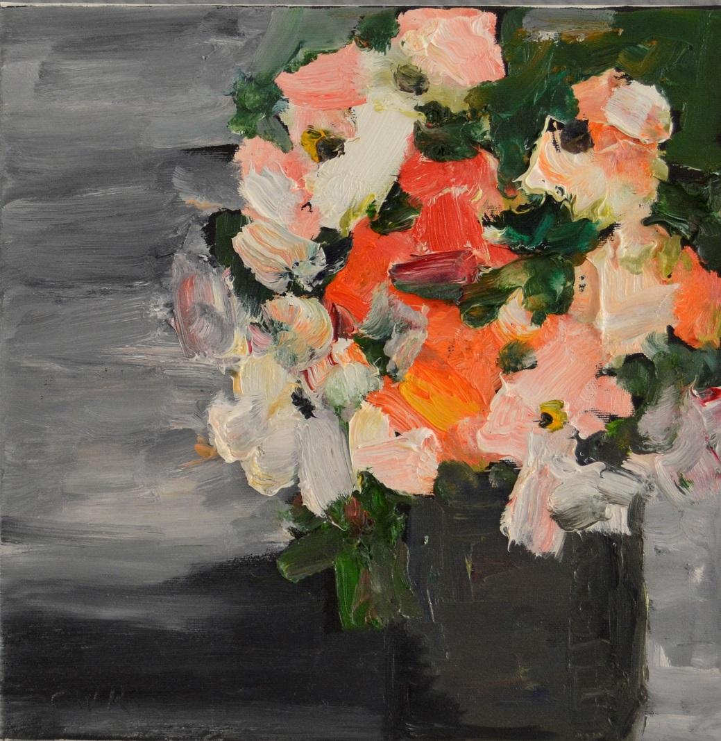 Rosen mit Vase