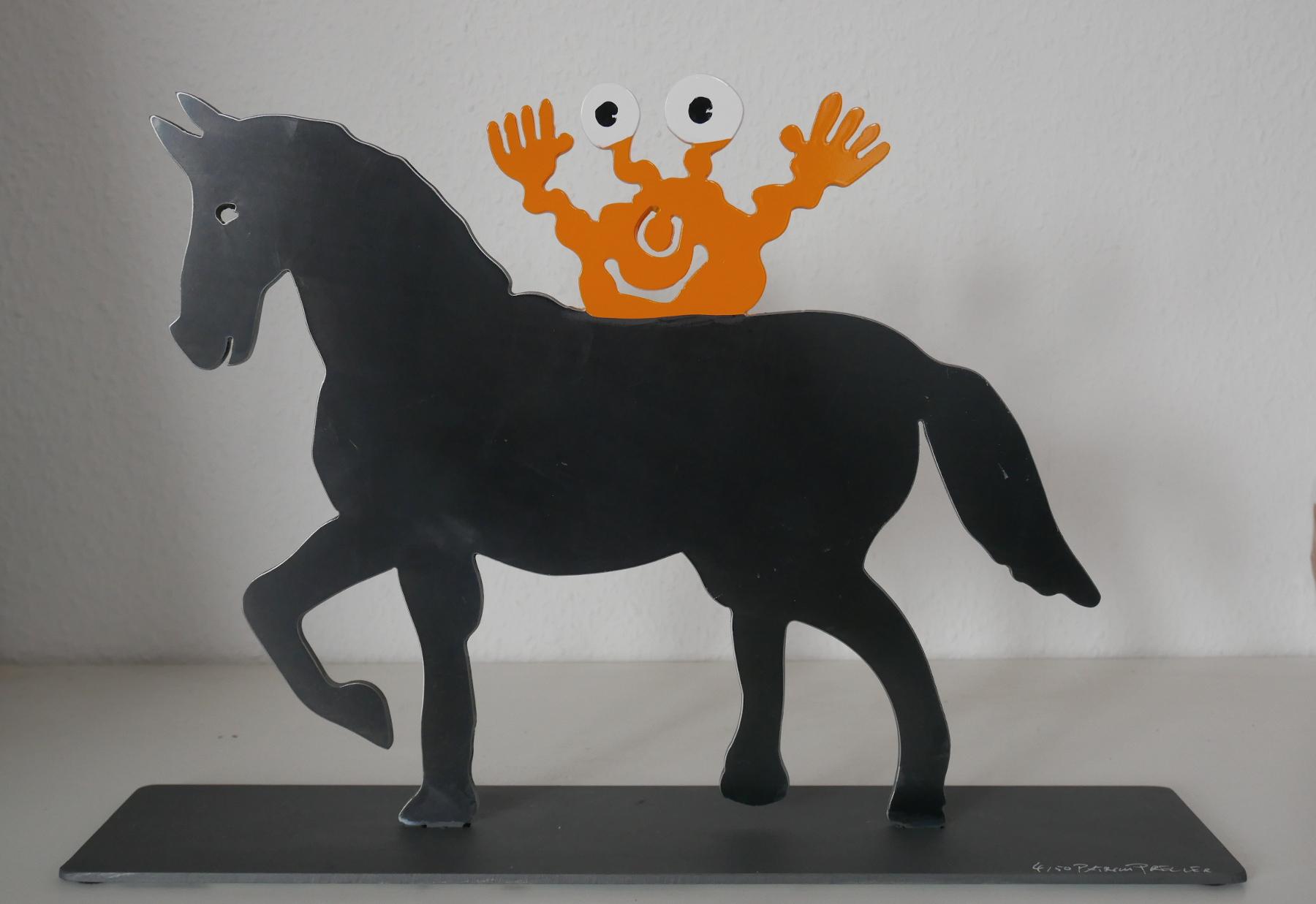 Pferd mit Monster