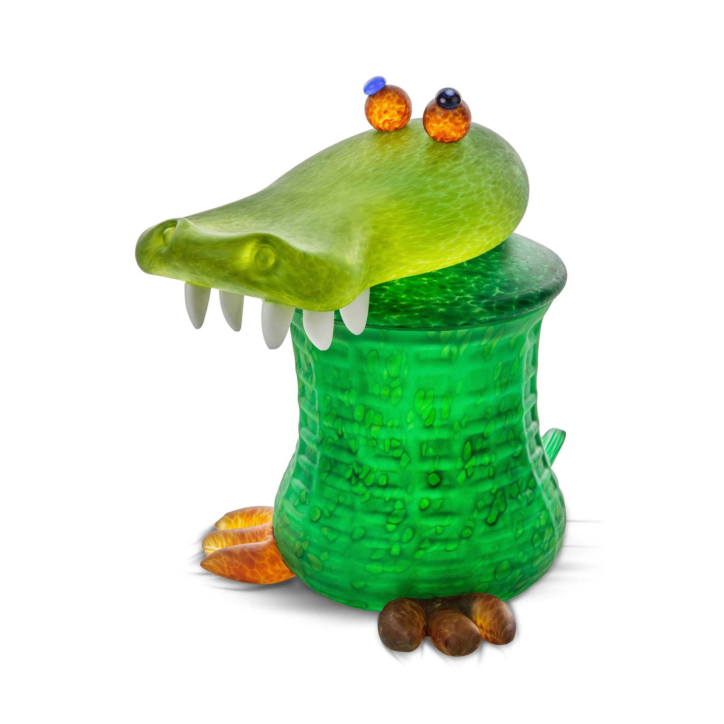 Gator, Keksdose, grün