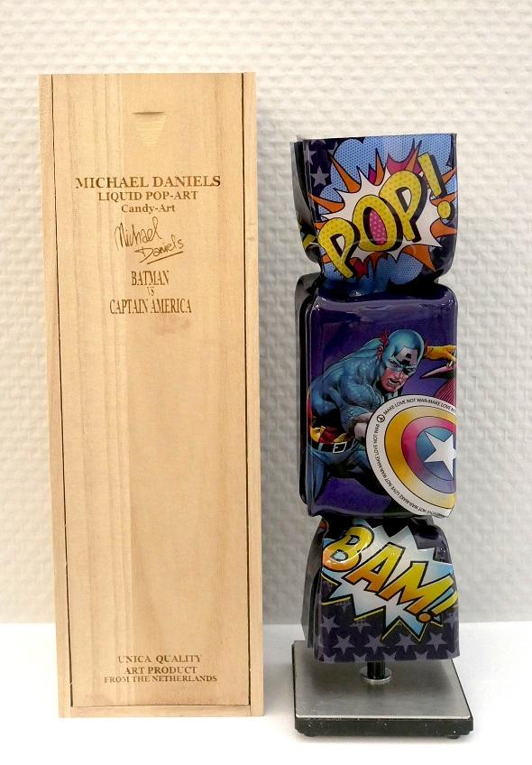 Art Candy - Batman vs Captain America