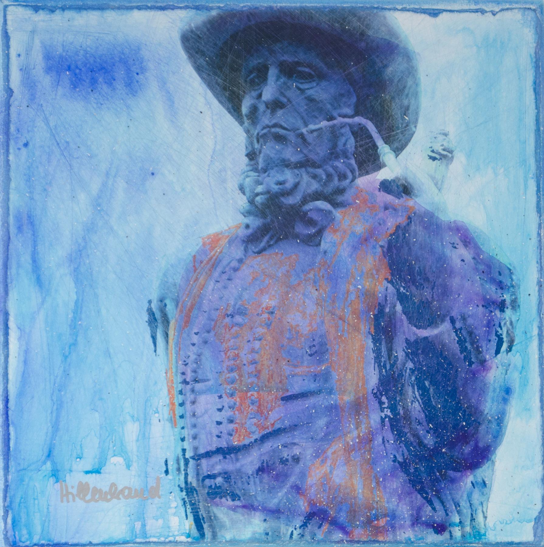 Leineweber blau in blau