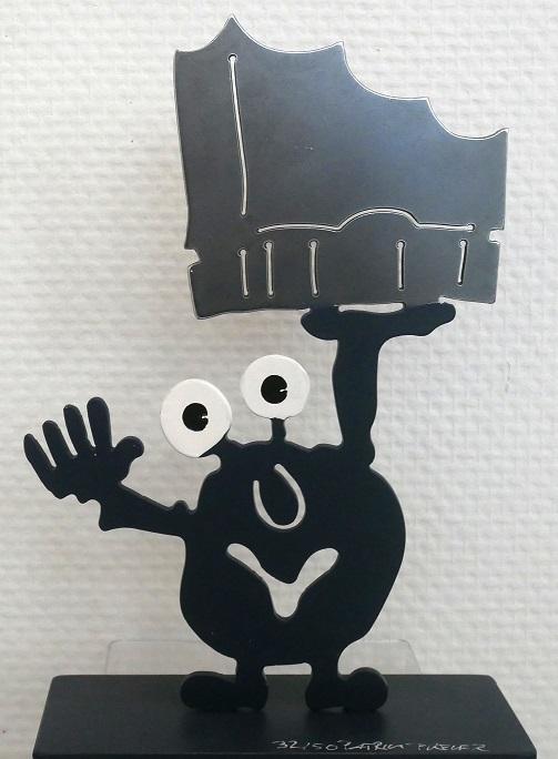 Monsterkollege Elphi, Monster schwarz