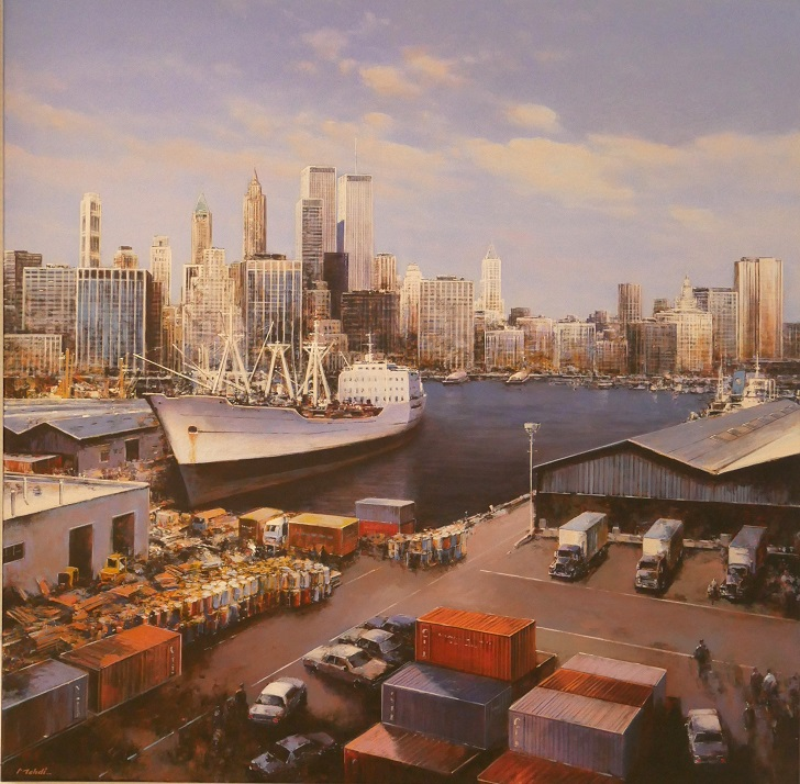 New York Hafen