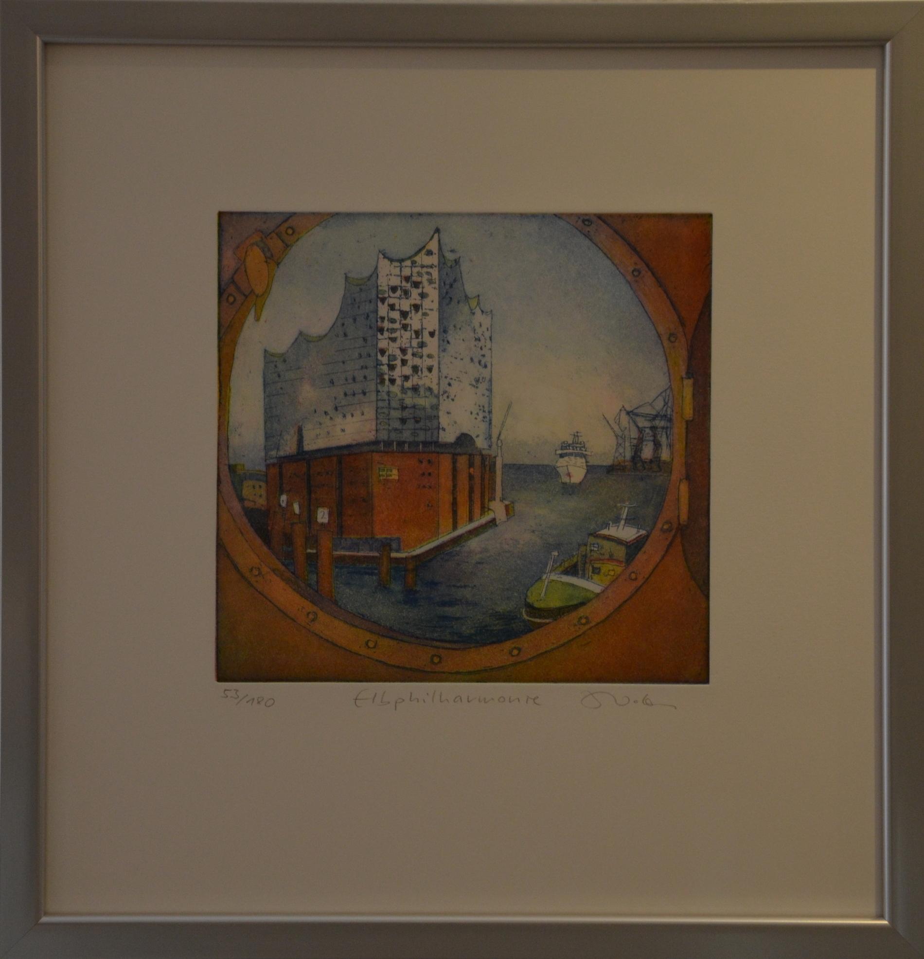 Elbphilharmonie, gerahmt