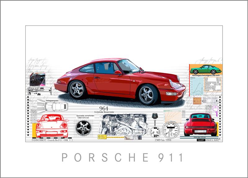 Porsche 964 von Leslie Hunt