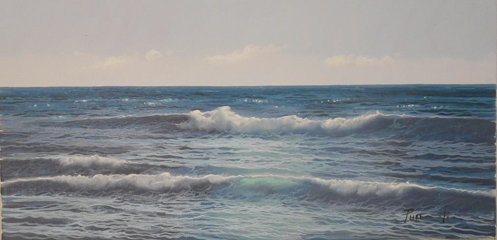 Leuchtendes Meer