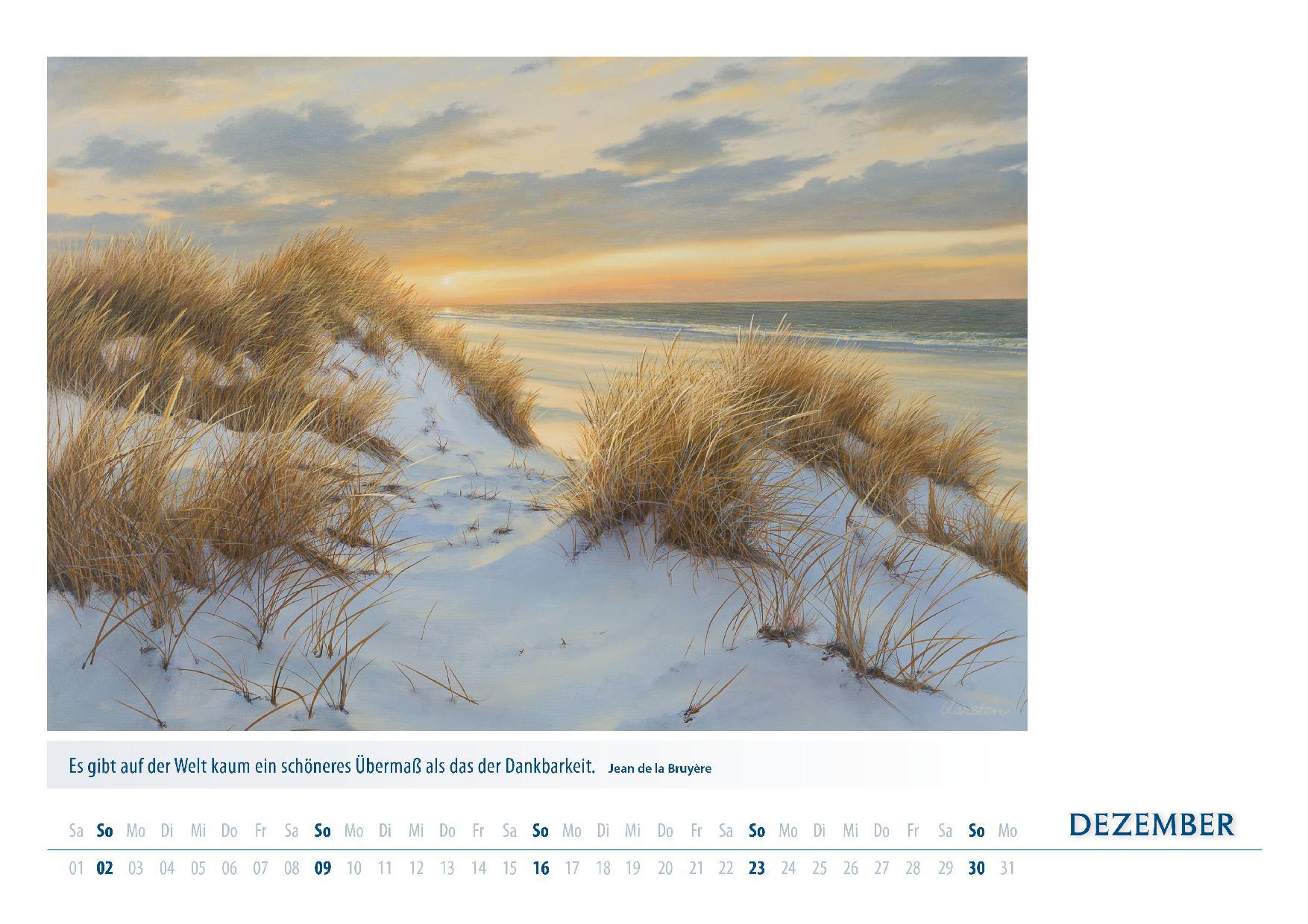 Kalender 2018 von Karsten Meiwald - Meerblicke