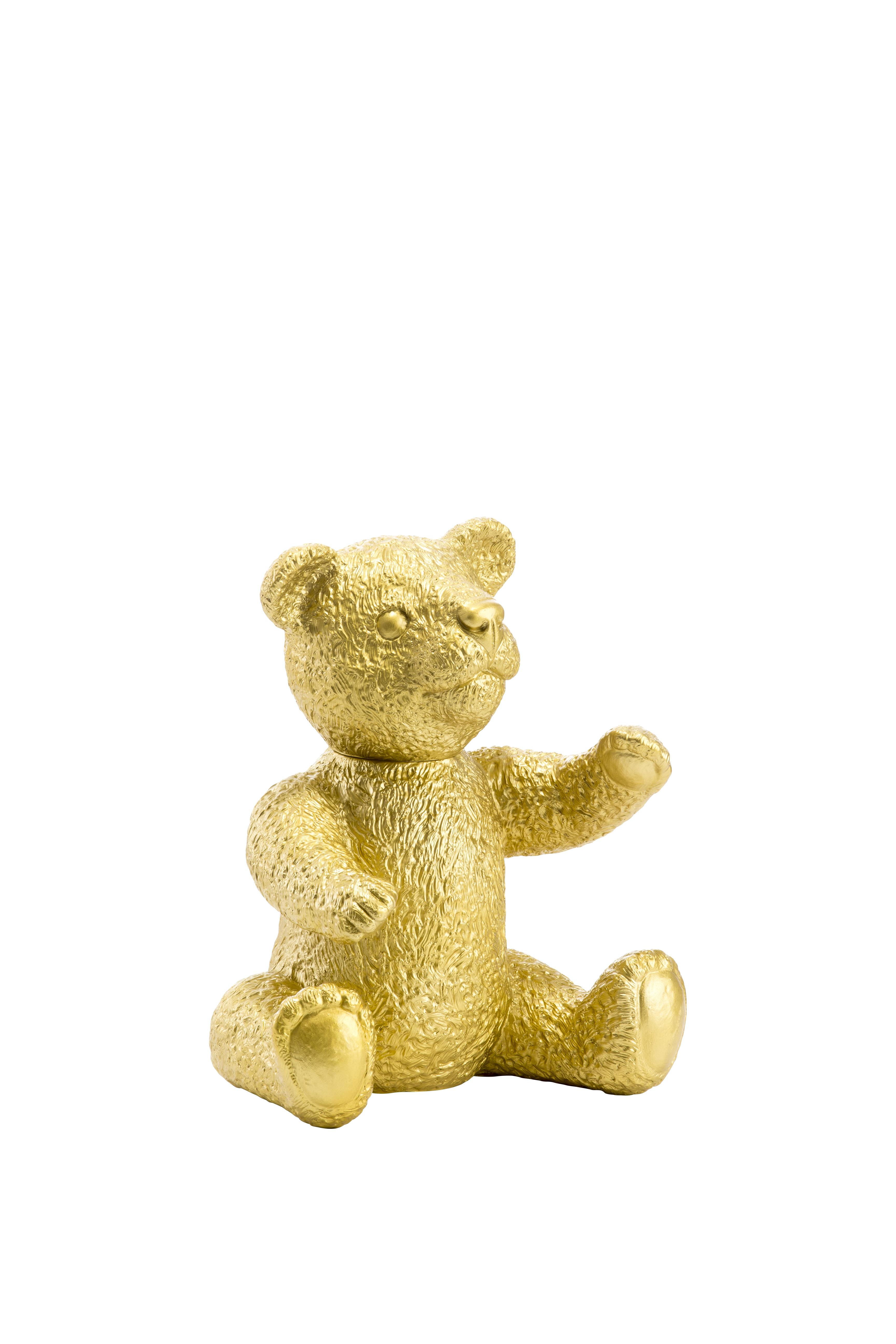 Teddy, gold