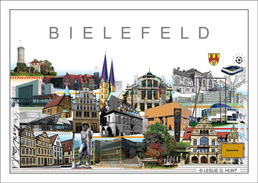 Bielefeld-Klappkarte