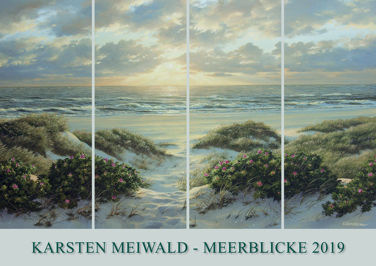 Kalender 2019 von Karsten Meiwald - Meerblicke