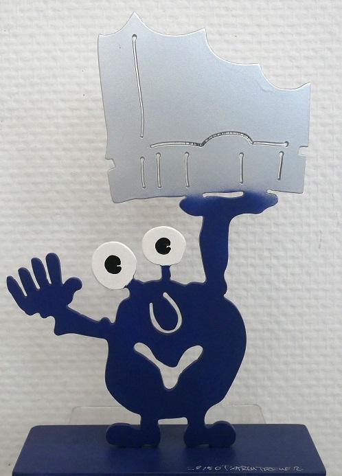 Monsterkollege Elphi, Monster dunkelblau